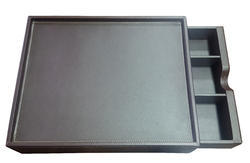 Black Leather Amenity Box, for HOTELS