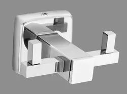 silver SS Robe Hook, For Hotel, Material: Hi-grade Stainless Steel