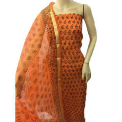 Cotton Printed Ladies Unstitched Suit
