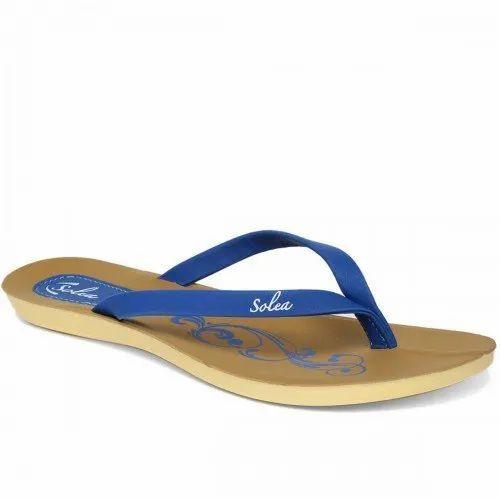 Paragon Women Blue Solea Flip-Flops
