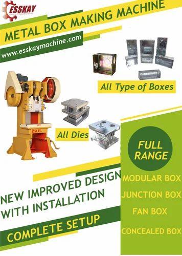 Electric Box Setup: ELECTRICAL MODULAR BOX - Junction Box Making Machine Manufacturer rh:esskaymachine.com,Design