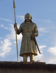 Maharana Pratap Brass Statue