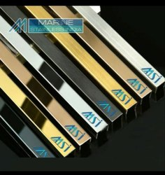 Stainless Steel PVD Colour Coated Decorative Profiles
