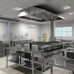 The High Kitchen Canteen Kitchen Setup