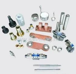 Gurukrupa Engineering Alloy steel,mild steel Injection Molding Machine Spares and parts, Hydraulic & Mechanical Composite
