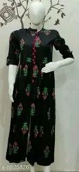 Party Wear 3/4th Sleeve Kurtis