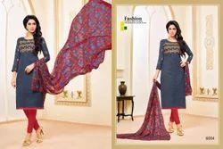 3/4 Sleeve Khwaish Salwar Suit Fabric