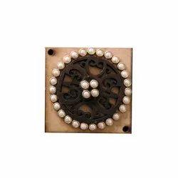 Kumar Buttons Fancy Wooden Kurta Button