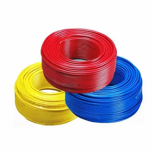 PVC (Insulation) 12 Strand Serial Light Electric Wire, Insulation Thickness: 0.4-0.6 mm