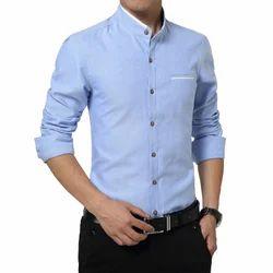 Zoom Garments Plain and Printed Cotton Formal Shirt