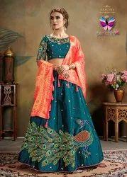 Stylist Pure Silk Lehenga