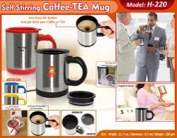 4pcs Set Steel Tea Coffee Mug