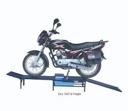 Bike Ramp for Spill Free Oil Change