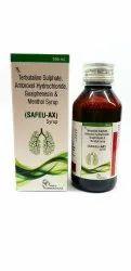Amroxol Hydrochloride 15mg Terbutaline Sulphate1.25mg Guaiphenesin 50mg Menthol 1mg