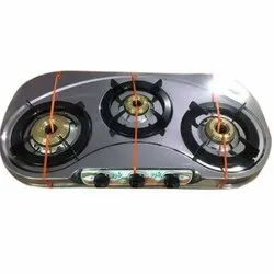 LPG Three Burner Gas Stove