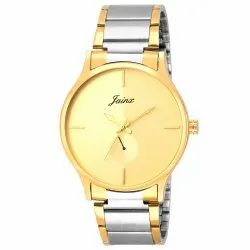 Golden Dial Men Premium Wrist Watches
