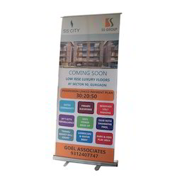 Digital Roll Up Standee