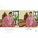 Chanderi Printed Semi Stitched Suit
