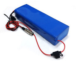 Electric Scooter ECC Lithium Battery, Voltage: 3.7 V