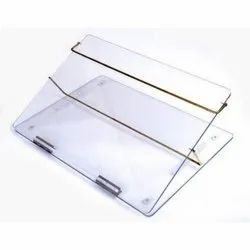 Acrylic Table Top size 21x15 inches Writing Desk Elevator
