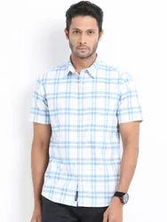 Comfort White Half Sleeve Shirts For Men