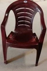 Brown With Hand Rest (Arms) Nilkamal Plastic Chairs