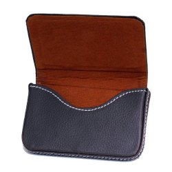 Brown Soft Leather Card Holder