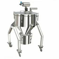 Trolley Mounted Powder Transfer System