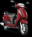 Red Suzuki Access 125 Bs6