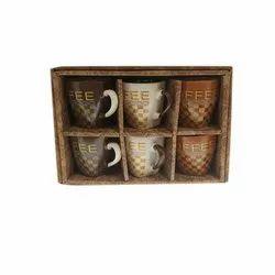 Ceramic Coffee Mug, Packaging Type: Box, 250 ml