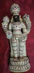 Lord Balaji with Abooshanam 1 1/2 feet