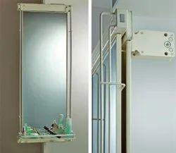 White Glass High End European Style Mirror, For Home