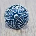 925 Sterling Silver Star Design Jewelry Plain Silver Ring Wr-5628
