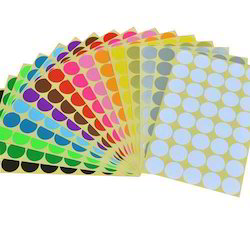 Multi Color Self Adhesive Sticker