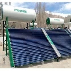 Waaree Solar FPC Water Heater, Capacity: 500 to 25, 000 LPD