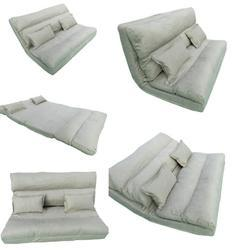 Floor Sofa Cum Bed - 150 Cm Wide - Beige