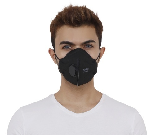 Mask N95 Pureme Black Pollution Anti