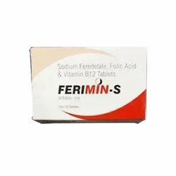 Sodium Feredetate, Folic Acid and Vitamin B12 Tablets
