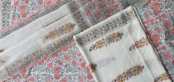 Vinayakam Exports Jaipur Hand Block Printed Unstained Cotton Suit With Kota Doria Dupatta Set