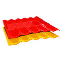 Shri Balaji Asbestos Cement Tile Profile Sheet, Thickness Of Sheet: 1.5 Mm - 2.5 Mm