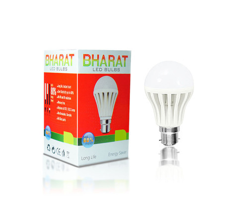 Bharat 3 Watt Led Bulb (Cool Day Light) Pack of 4