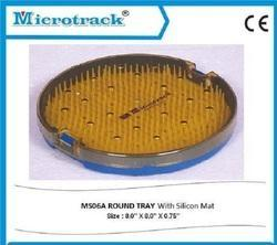Round Plastic Sterilization Tray