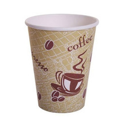Paper Coffee Cup, Packaging Type: Plastic Packet, Packet Size: 100 Pieces