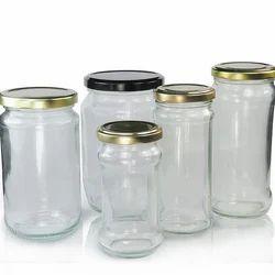 Glass Pickle Bottle