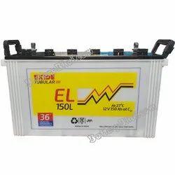 Exide Tubular Battery 150 Ah Battery, 12 V