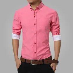 Plain Regular Fit Shirts