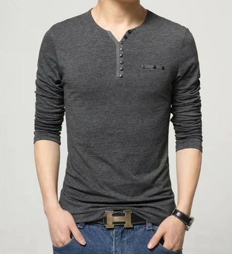 39e4c624ea6 Design Man V-Neck T-Shirts at Rs 299  piece