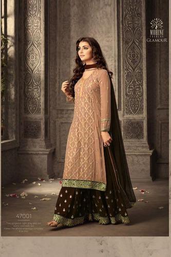 57347b4881 New Designer Mohini Sharara Salwar Suit, शरारा - Vistara ...