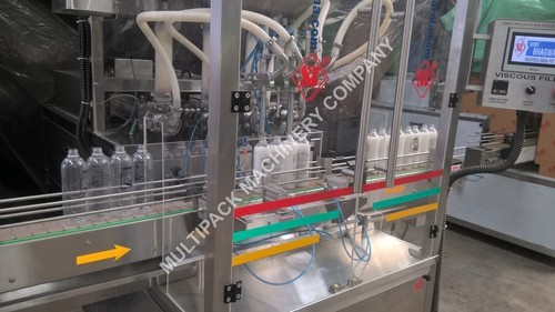 Bottle Liquid Filling Machine - Sauce Bottle Filling Machine