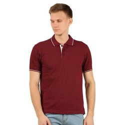 Mens Collar Neck Polo T Shirts